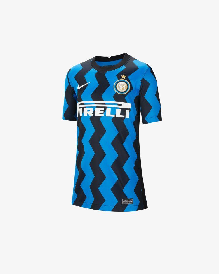 Nike Inter Home 2020/21 T-Shirt Replica Bambino