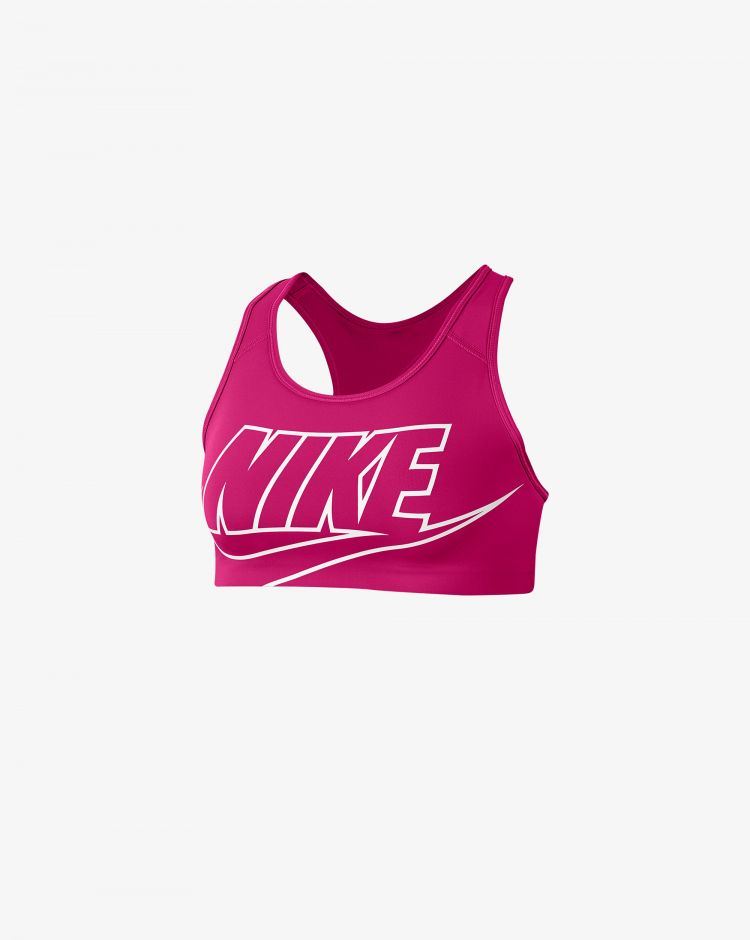 Nike Top Bra Swoosh Donna