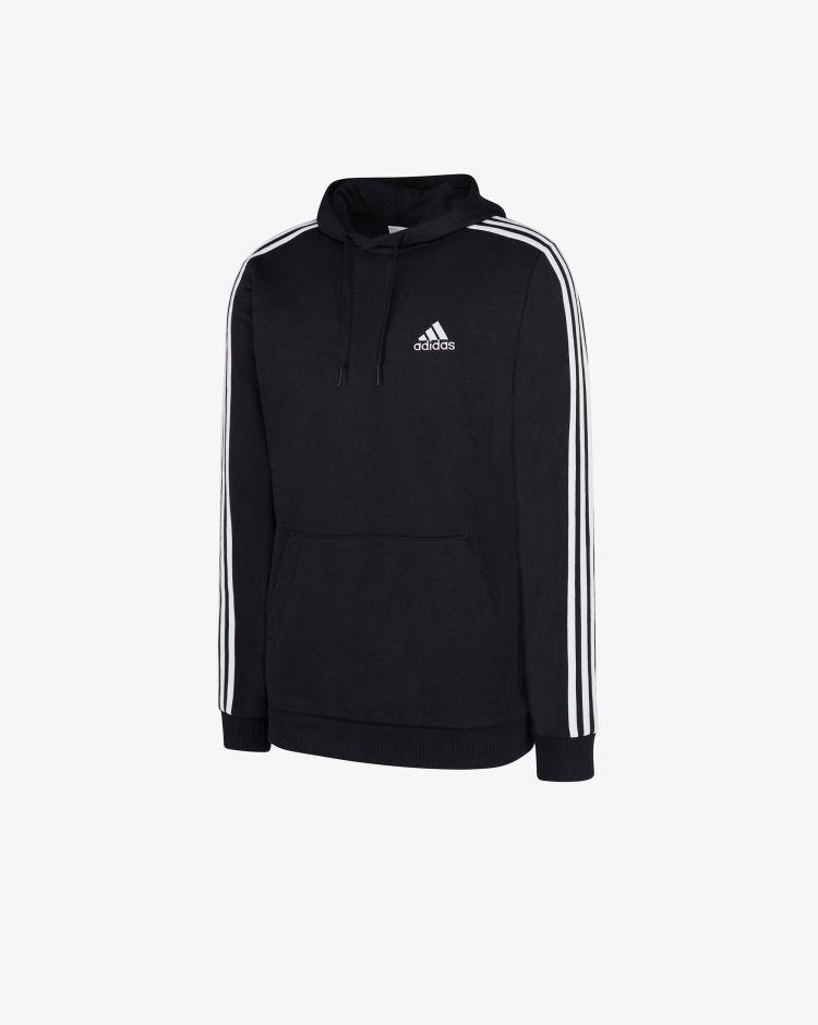 Adidas Felpa Essentials 3-Stripes Uomo