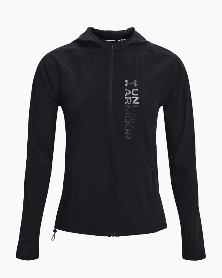 Under Armour Outrun The Storm Jkt Nero Donna