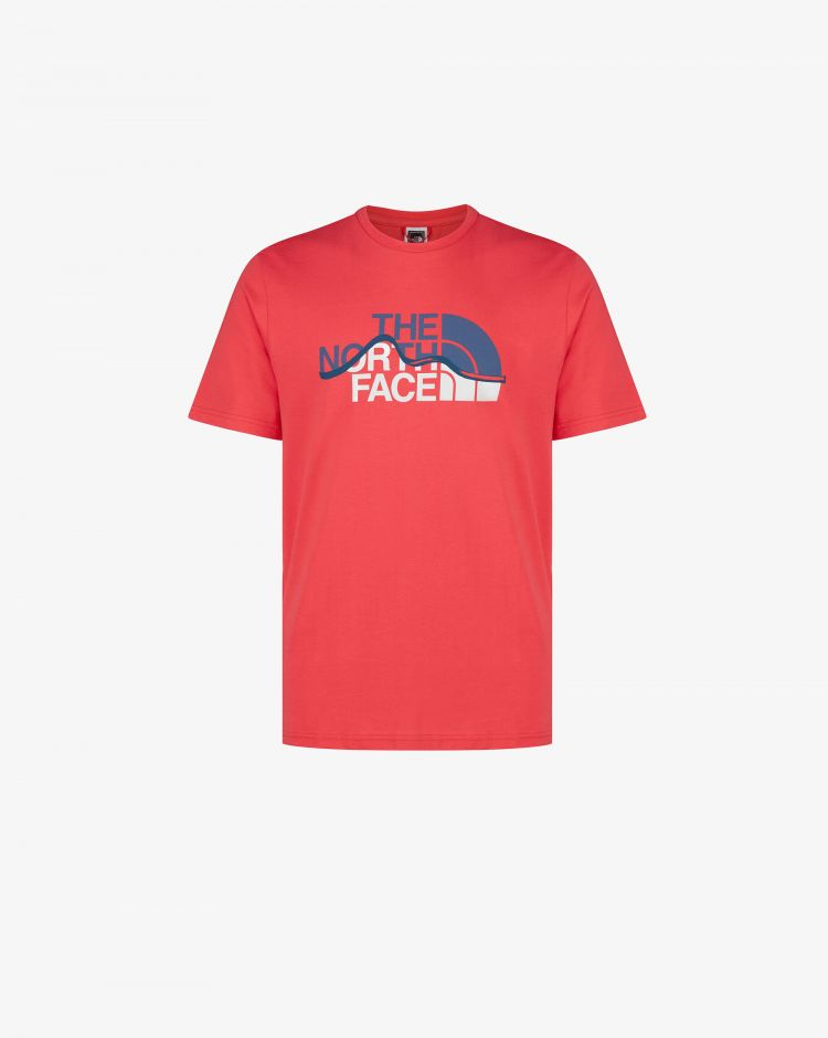 The North Face T-shirt Mountain Line Uomo