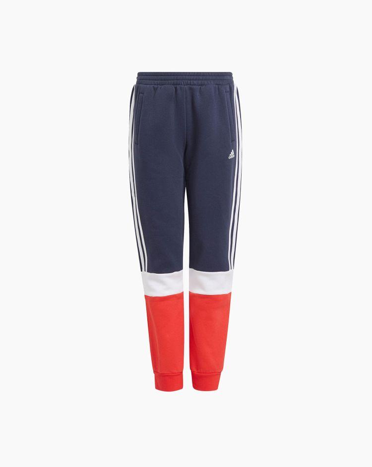 Adidas Pantalone Essentials Foundation Nero Bambino