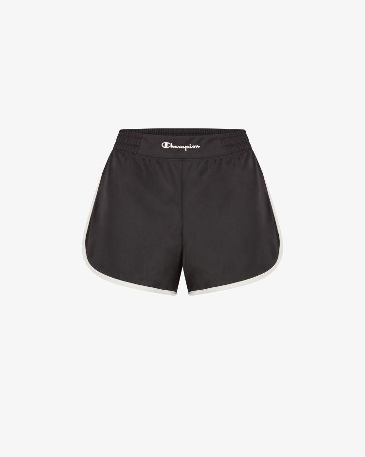 Champion Shorts in maglia tecnica con logo Donna