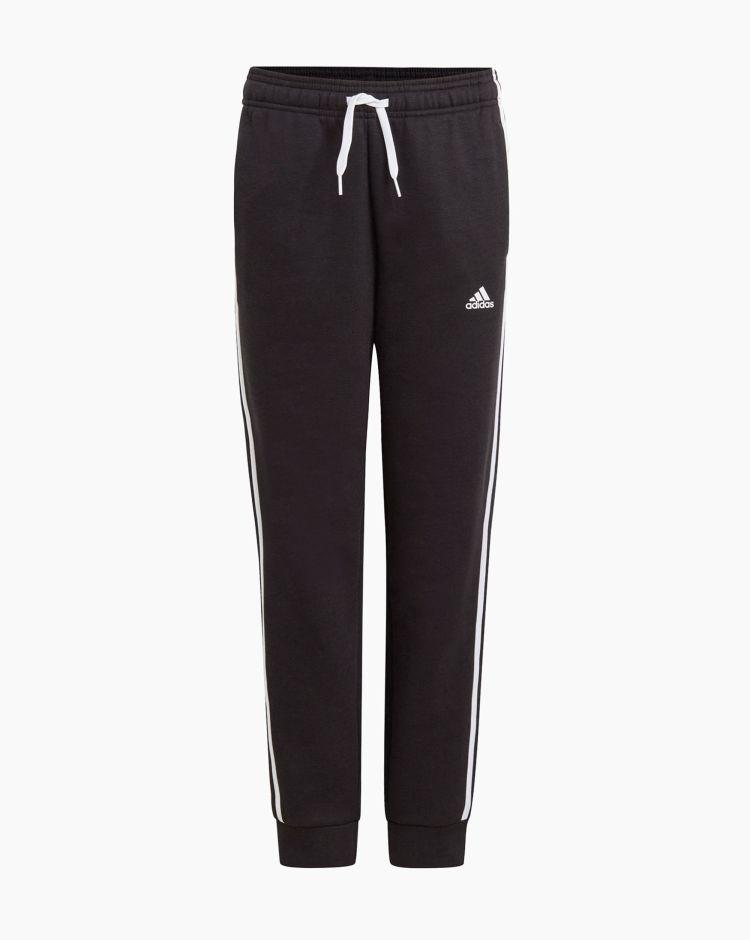 Adidas Pantalone 3 Stripes Nero Bambino
