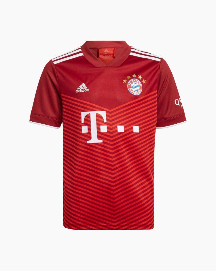 Adidas T-shirt Home 21/22 FC Bayern München Bambino