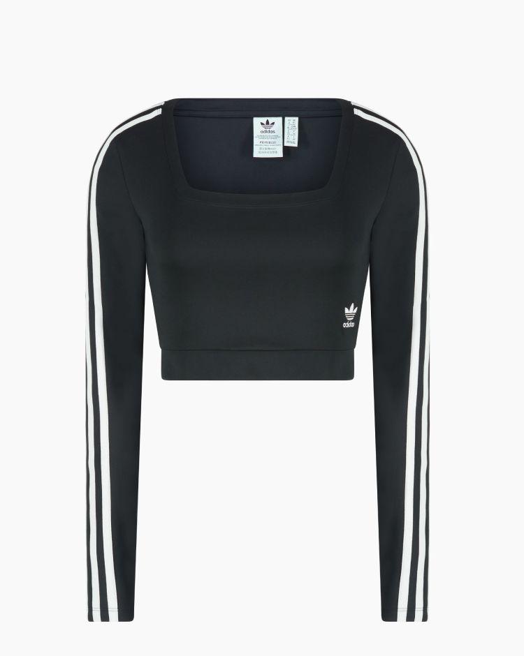 Adidas Long Sleeve Nero Donna