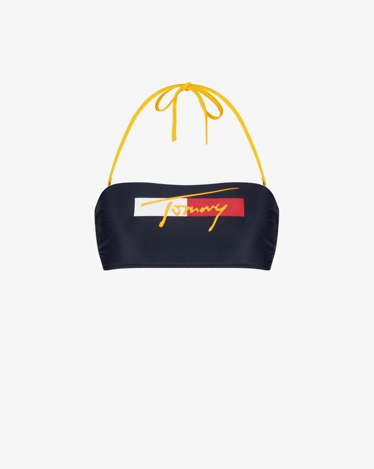 Tommy Hilfiger Top a fascia con logo Donna