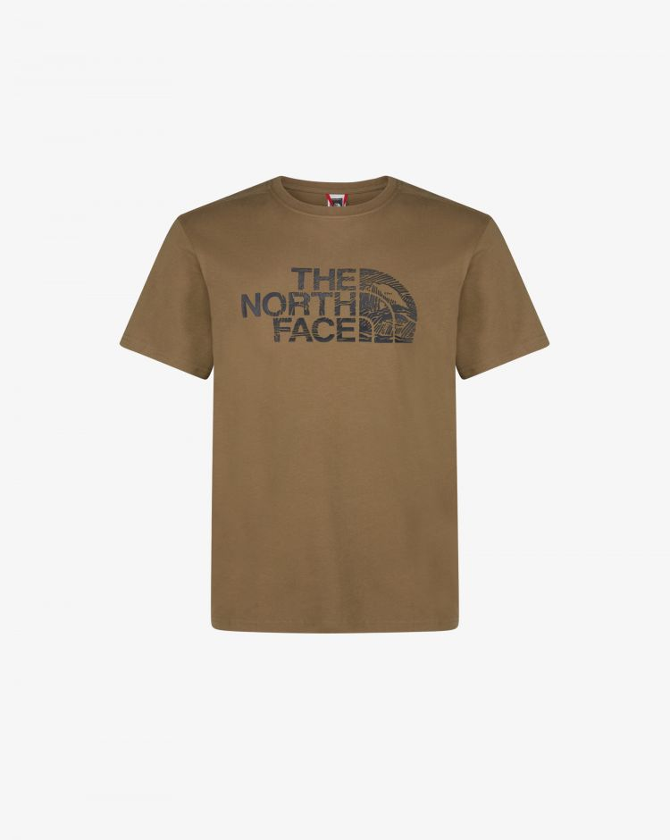 The North Face T-shirt Woodcut Dome Uomo