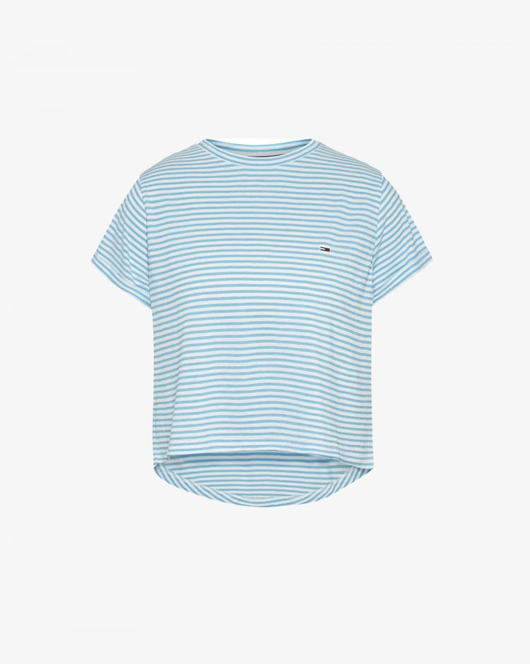 Tommy Hilfiger T-shirt relaxed a righe Donna