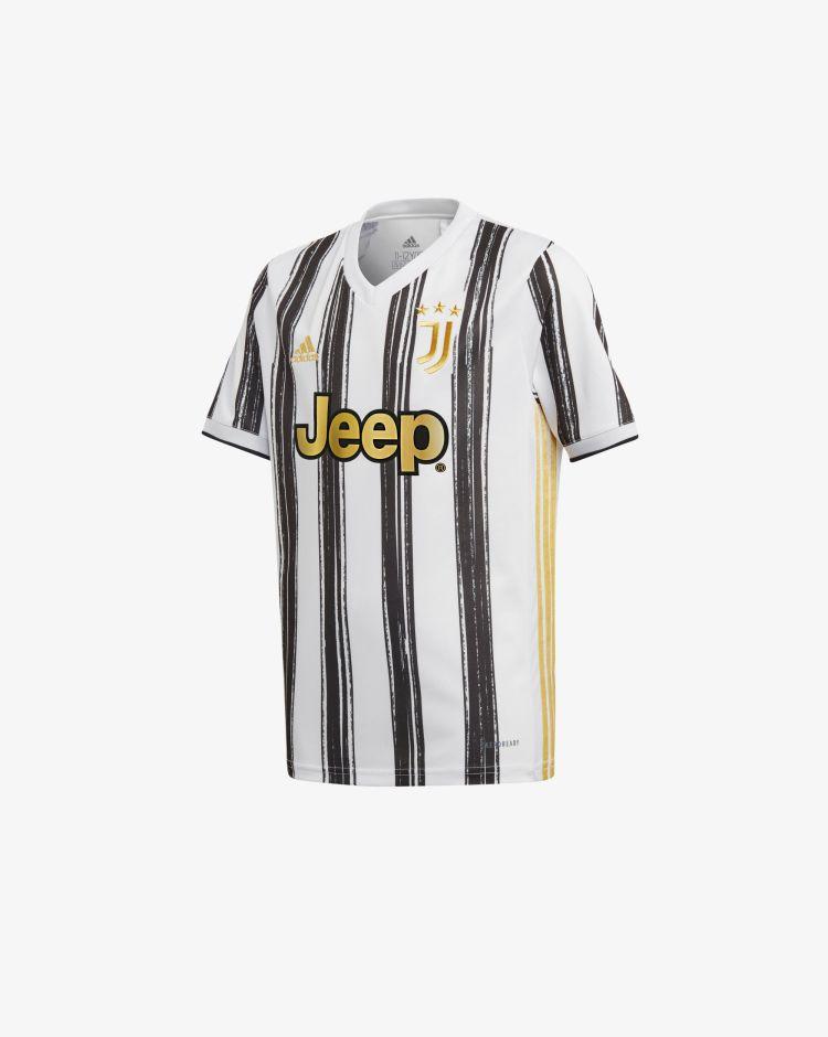 Adidas Juventus Home 2020/2021 T-Shirt Replica Bambino