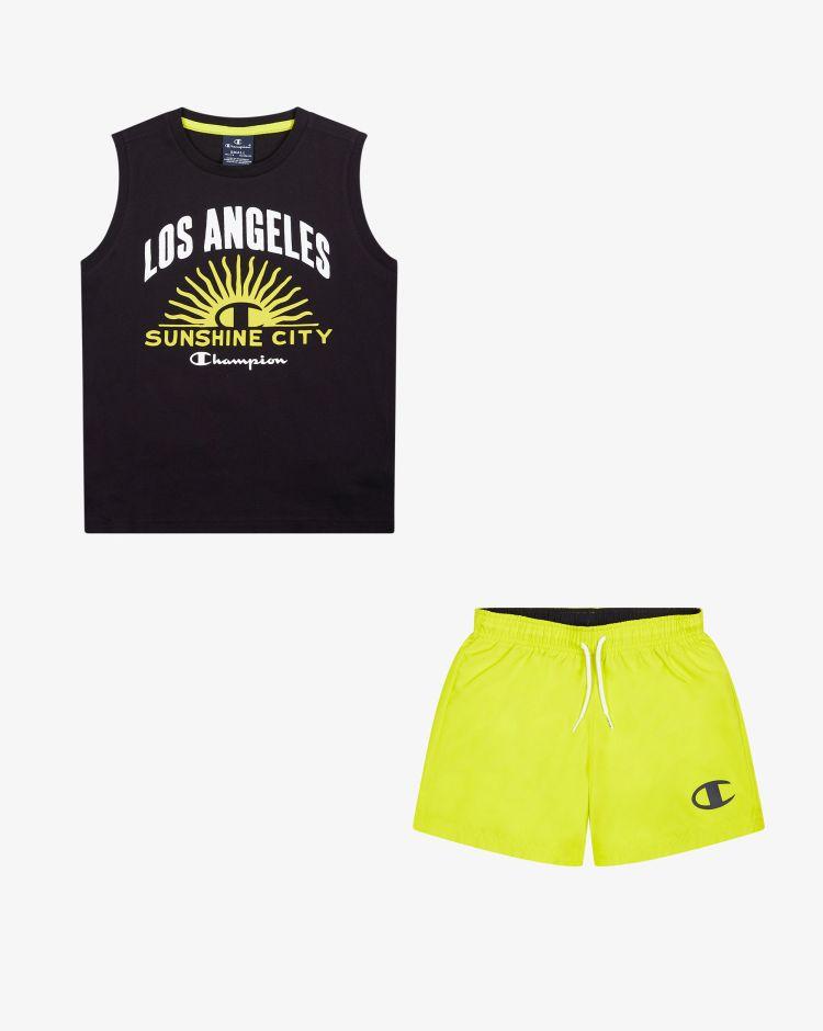 Champion Set top + shorts Bambino