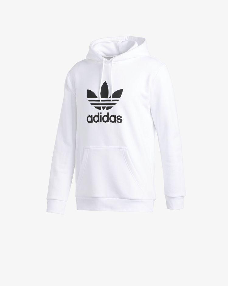 Adidas Originals Felpa con cappuccio Trefoil Uomo