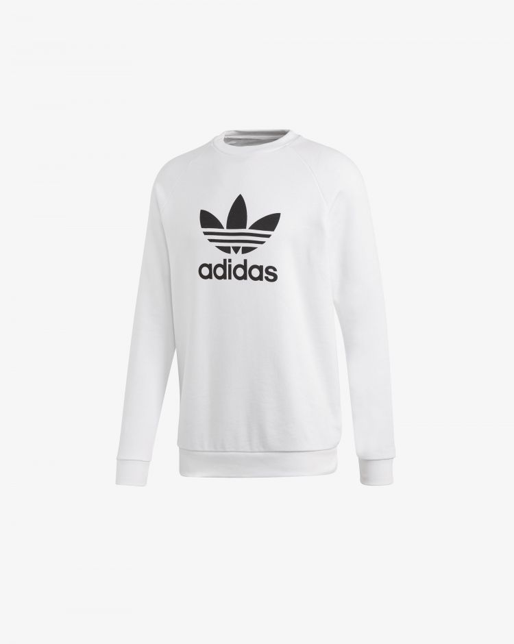 Adidas Originals Felpa Trefoil Warm-Up Crew Uomo