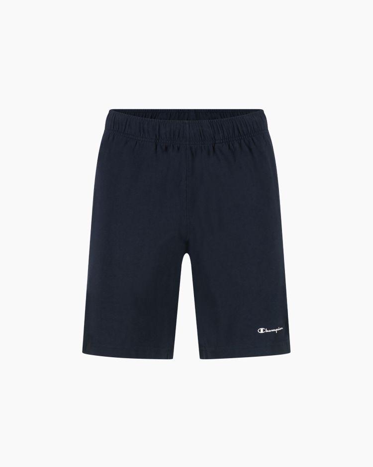 Champion Shorts con logo Blu Uomo