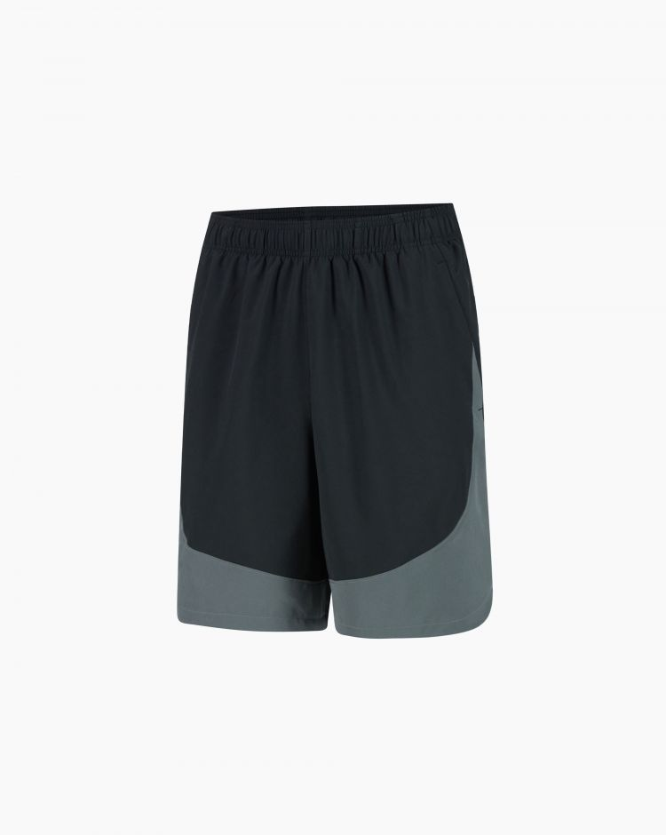 Under Armour Hiit Woven Colorblock Sts Nero Uomo