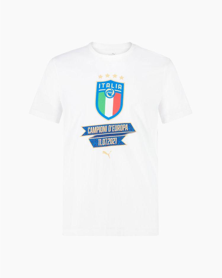 Puma Figc Blank Winner Tee Bianco Uomo