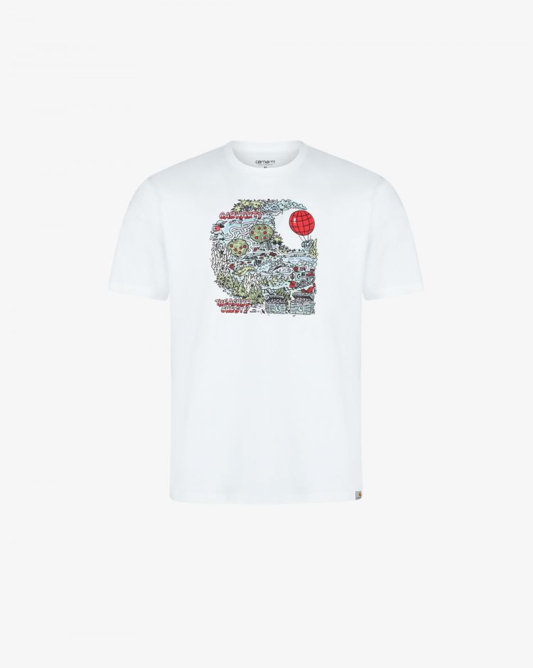 Carhartt T-shirt Treasure Uomo