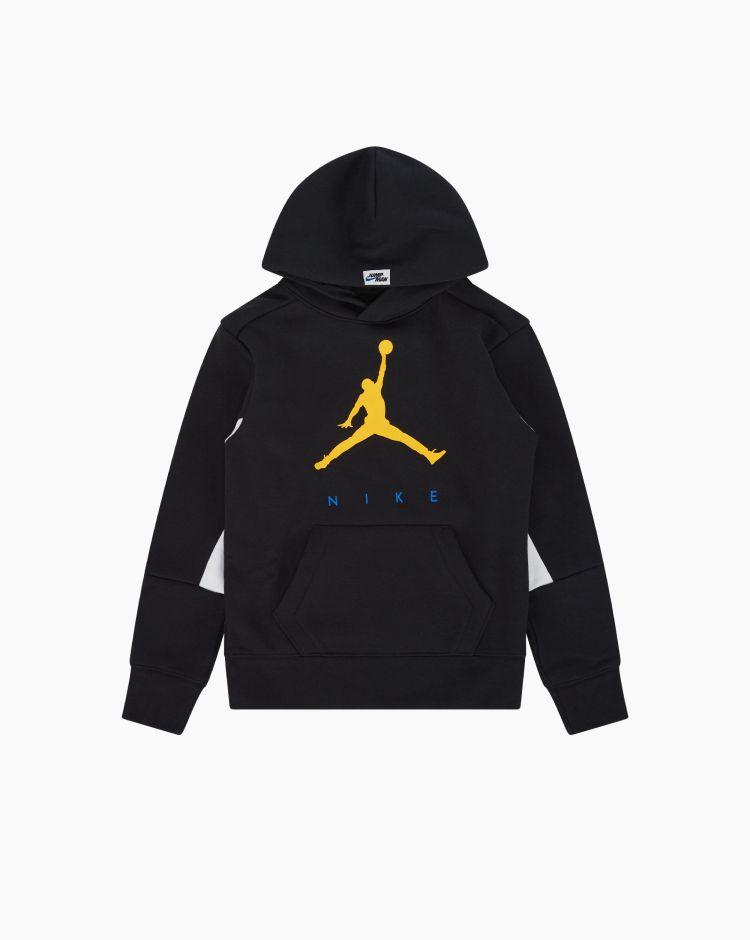 Nike Jordan Felpa Jumpman Nero Bambino