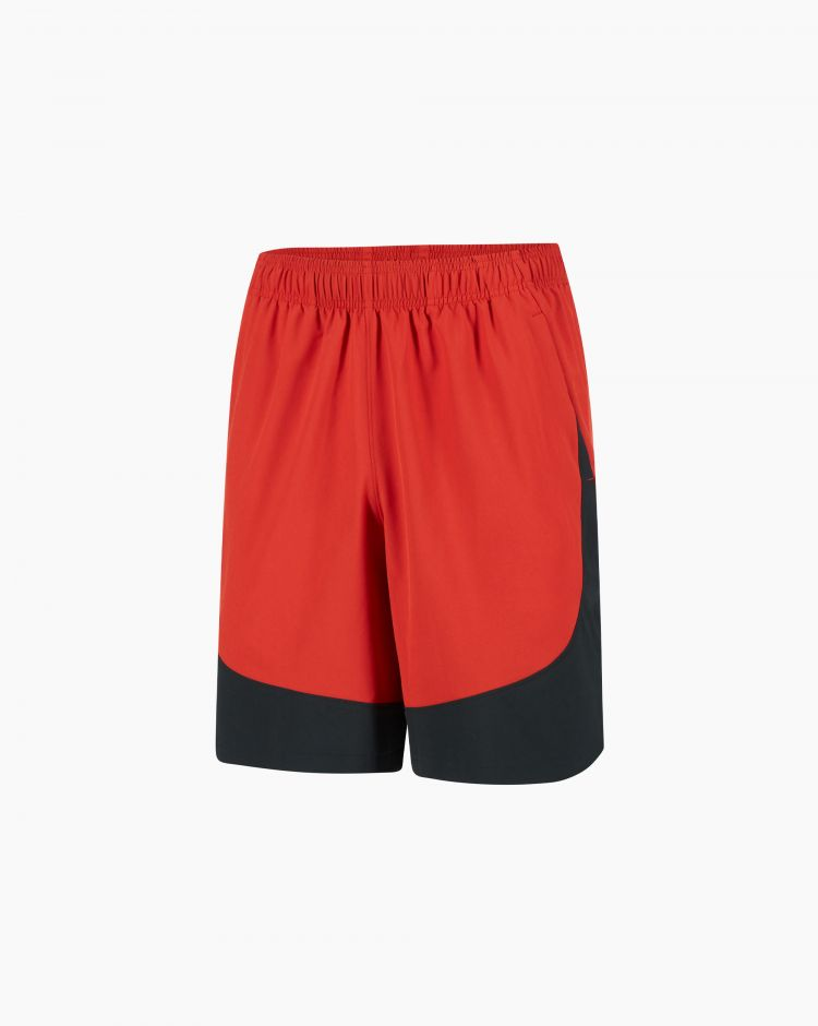 Under Armour Hiit Woven Colorblock Sts Rosso Uomo