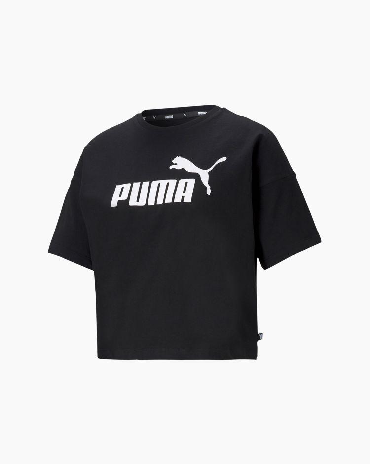 Puma T-shirt Ess Crop Tee Donna