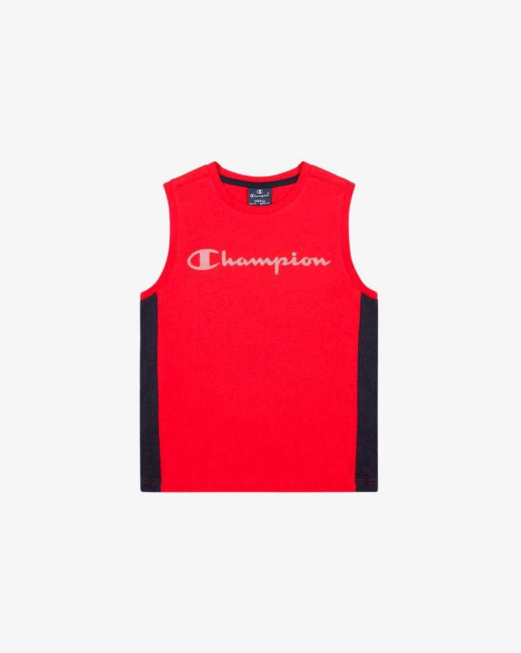 Champion Top color-block con logo Bambino