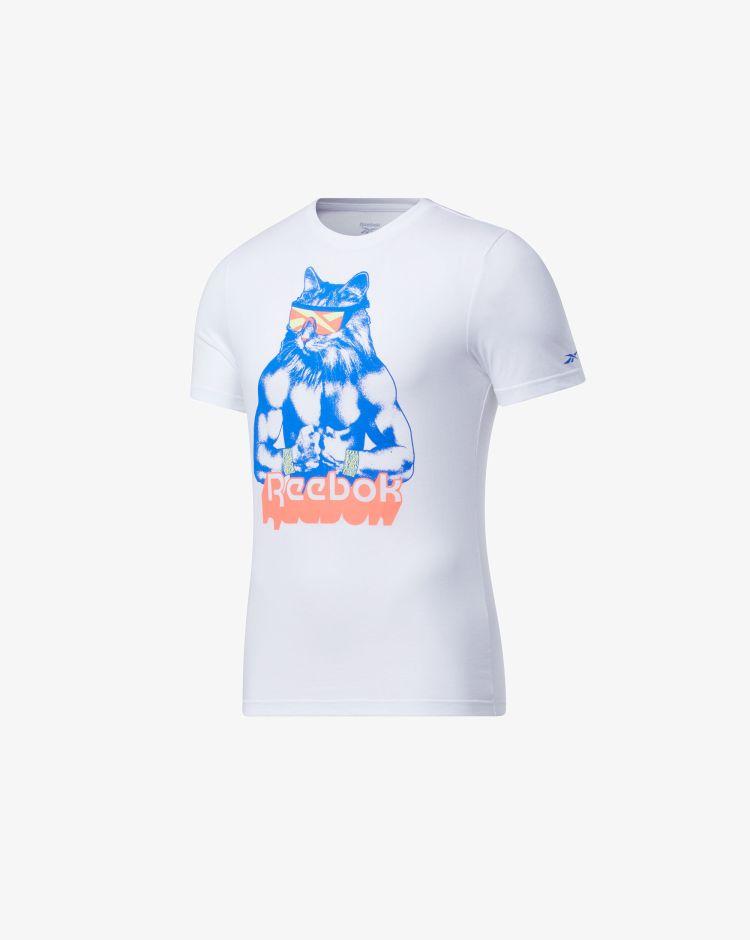 Reebok T-shirt Gritty Kitty Uomo