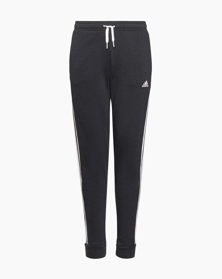 Adidas Pantalone 3 Stripes Nero Bambina