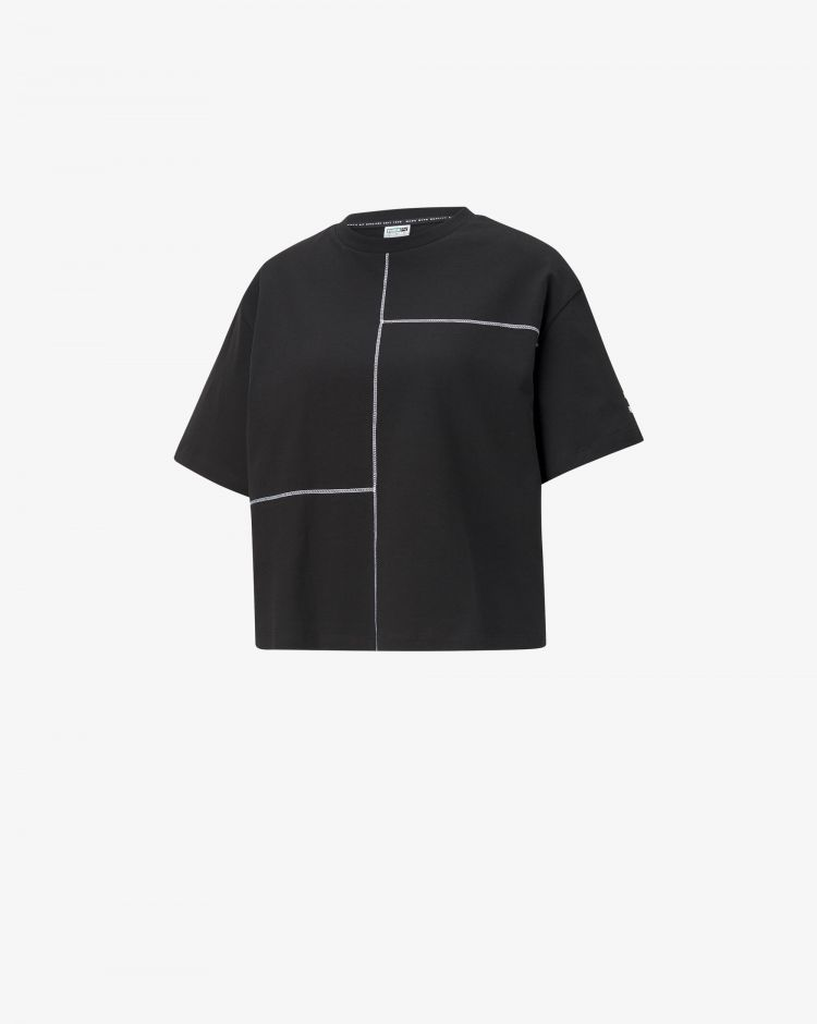 Puma T-shirt Kontrast Tee Donna