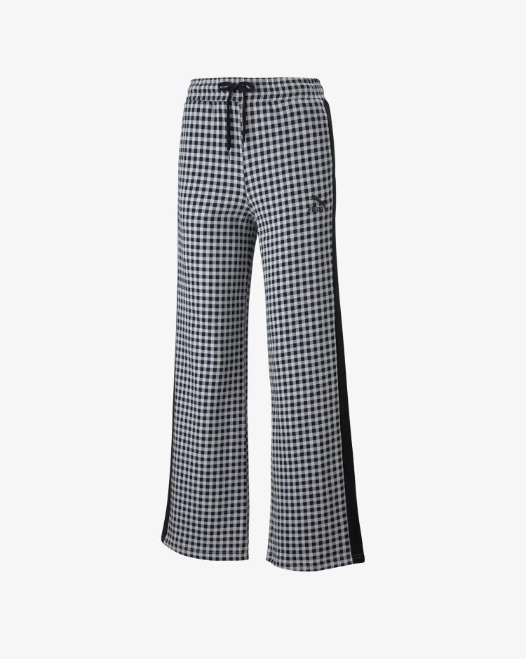 Puma Pantaloni Kontrast AOP Wide Pant Donna