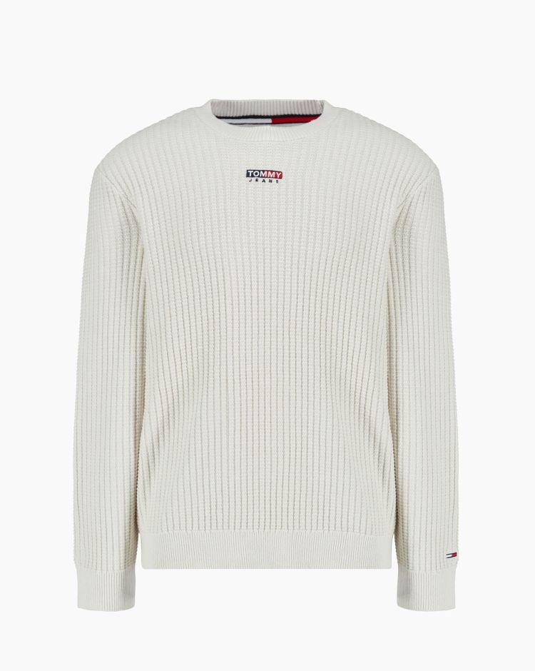Tommy Hilfiger Tjm Structured Graphic Sweater Grigio Uomo