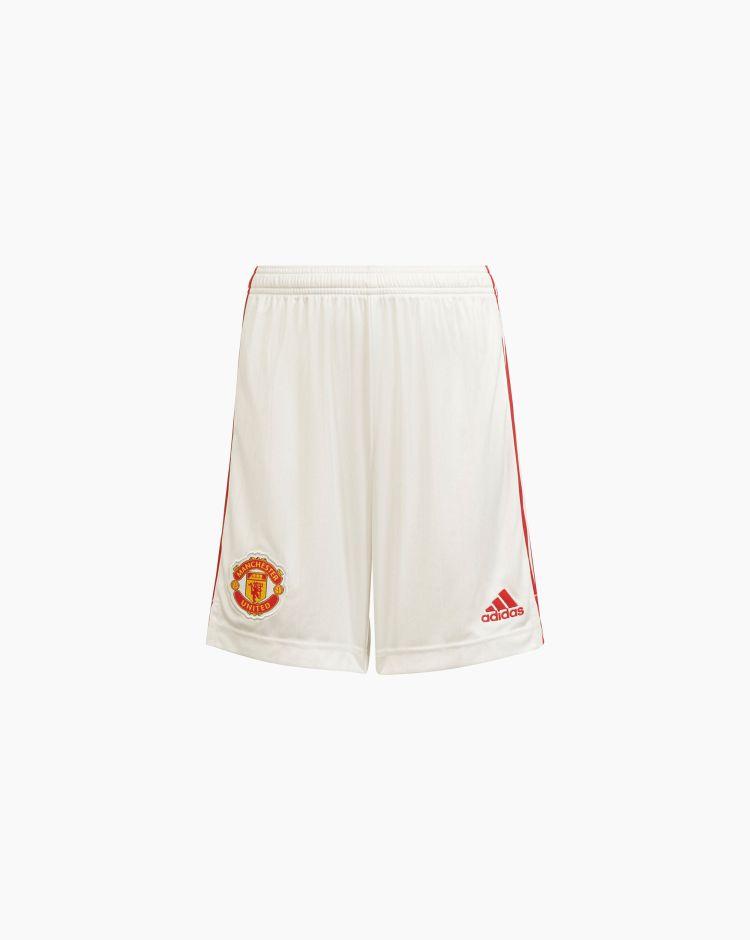 Adidas Shorts Home 21/22 Manchester United FC Bambino