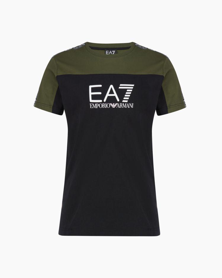 EA7 T-Shirt Nero Uomo