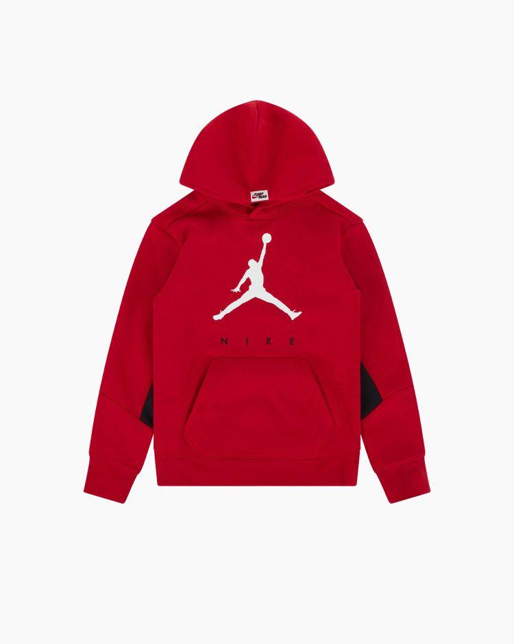 Nike Jordan Felpa Jumpman Rosso Bambino