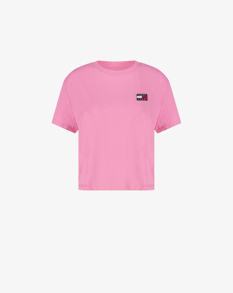 Tommy Hilfiger T-shirt con patch-logo Donna
