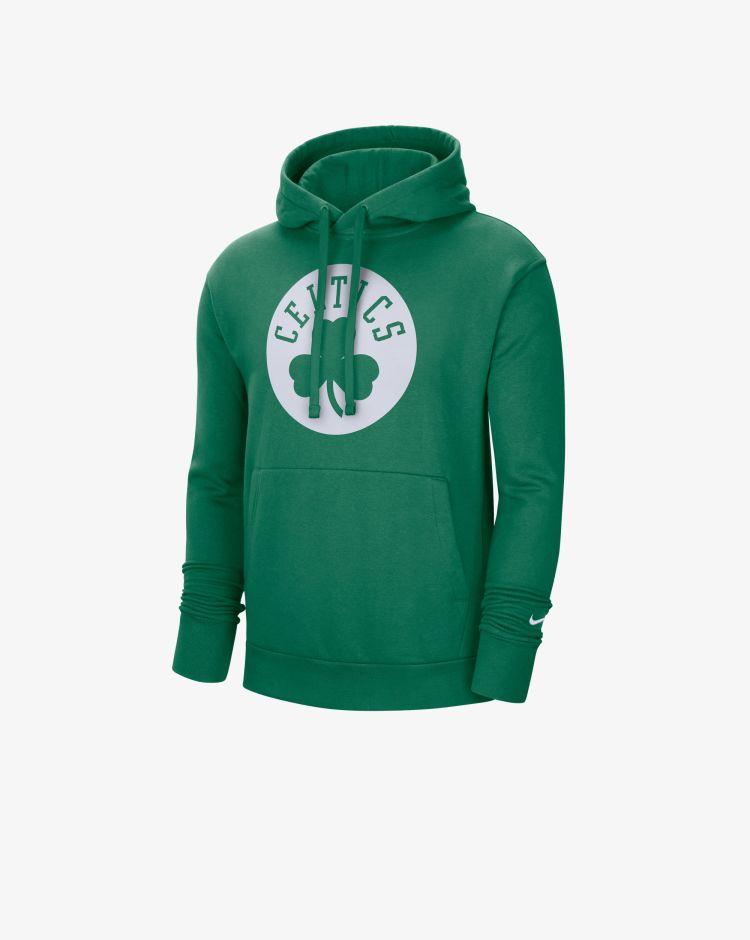 Nike Boston Celtics Essential Felpa Con Cappuccio Nba Uomo