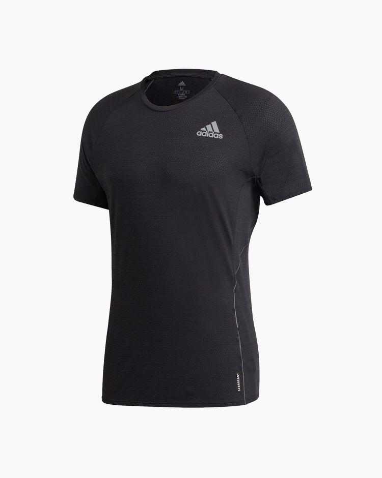 Adidas T-shirt Runner Nero Uomo